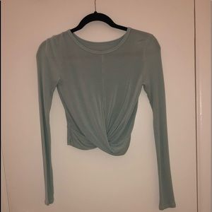 Alo Cover Long Sleeve Crop